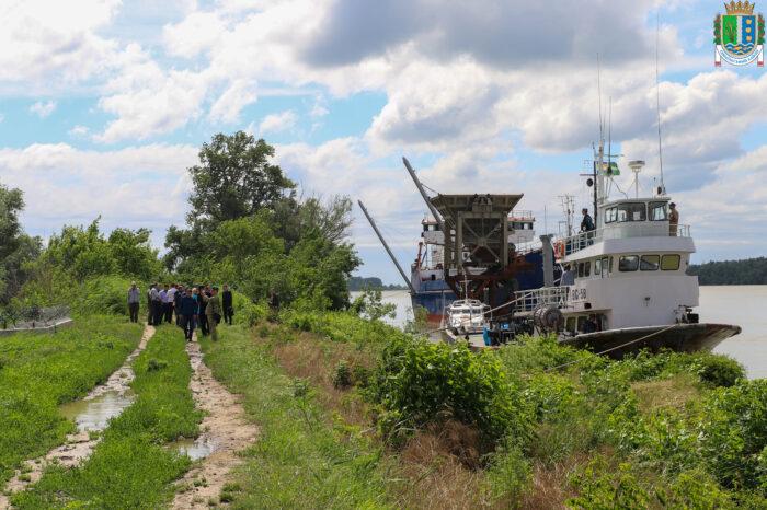 «Краншип» строит порт на Дунае: власти Измаила проверяют законность