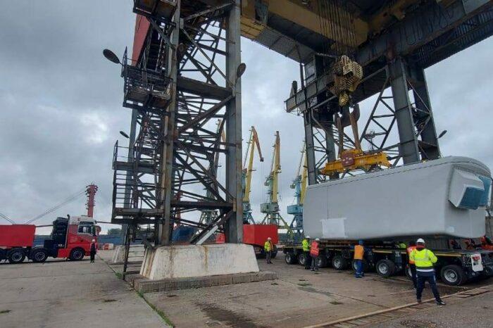 Ренийский порт перевалит оборудование для Днестровской ВЭС