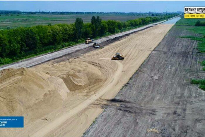 Как строится новая дорога в Одесский порт (ФОТО)