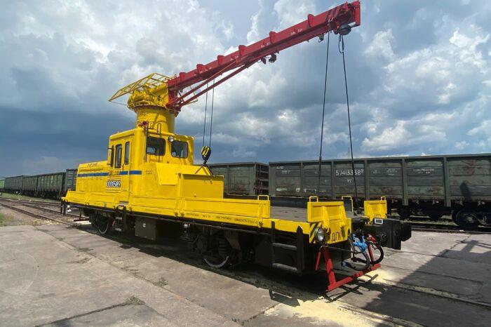 В Ивано-Франковске закончили капремонт автодрезины для МТП «Южный»