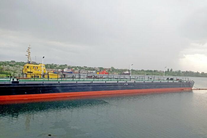 В порту Черноморск завершили ремонт плавучего причала