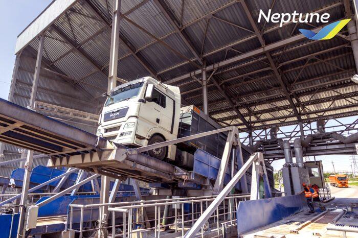 Neptune начал принимать зерно нового урожая