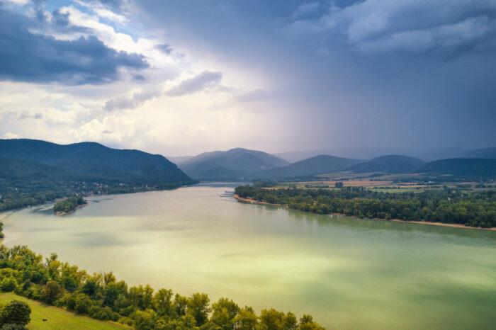 На Дунае нашли два новых острова