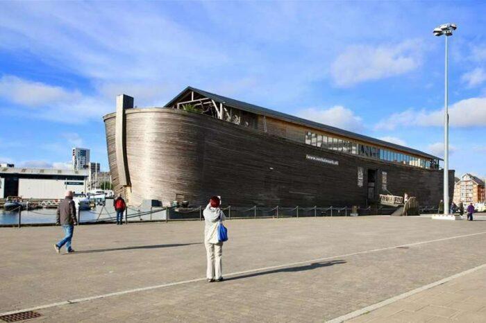 Британская береговая охрана задержала «Ноев ковчег»