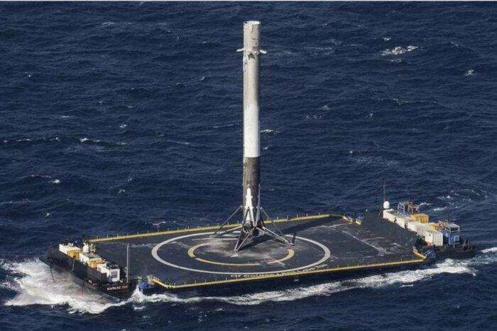 Американские буровые платформы станут плавучими космодромами