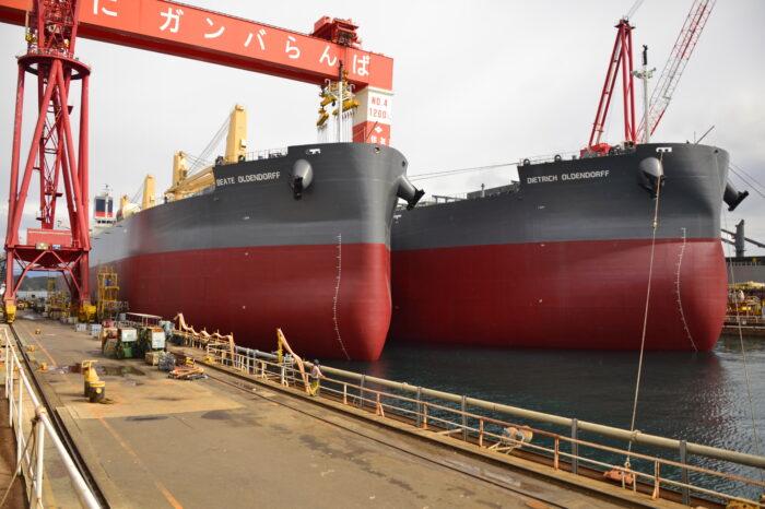 Oldendorff Carriers заказала новые суда в Японии