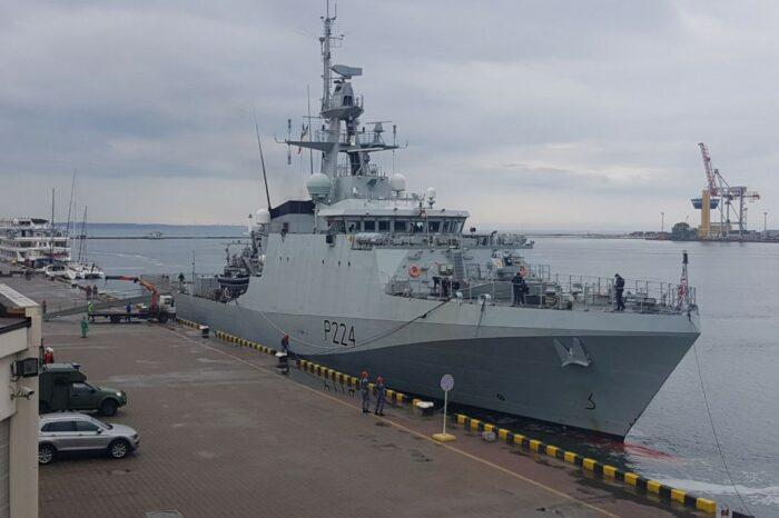 Корабль ВМС Великобритании Trent покинул Одесский порт