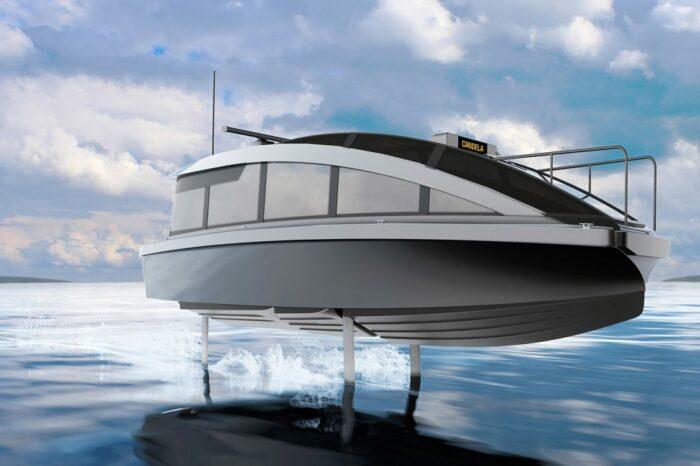 В Швеции создали катер-такси на подводных крыльях