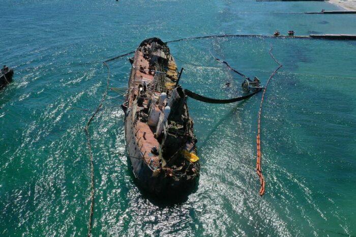 В Одессе выпустят книгу о затонувшем танкере «Delfi»