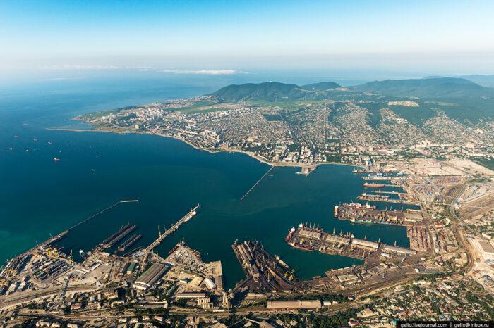 Новороссийский порт оштрафовали за загрязнение Черного моря