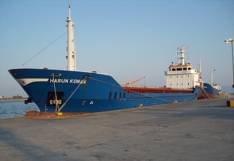 Turkish vessel with grain ran ashore near Kherson