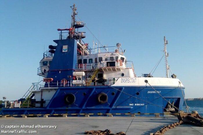 В Суэцком заливе затонуло судно