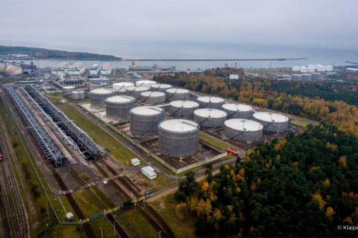 На базе Klaipėdos nafta создадут терминал по перевалке сжиженного углеводородного газа