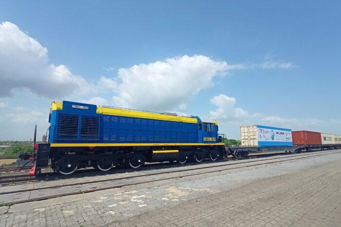 В Одессу впервые прибыл контейнерный поезд из Китая
