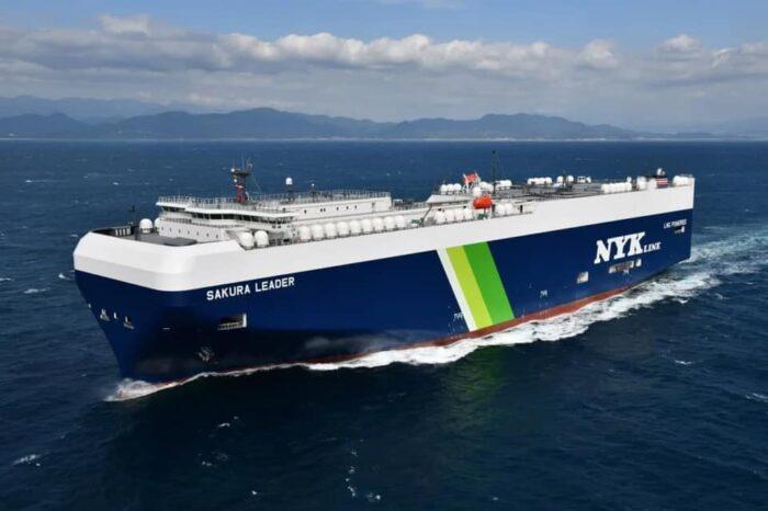 NYK Line заказа постройку двенадцати автомобилевозов на СПГ