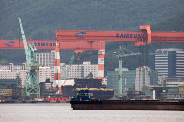 На судостроительных верфях Азии увеличилось количество заказов