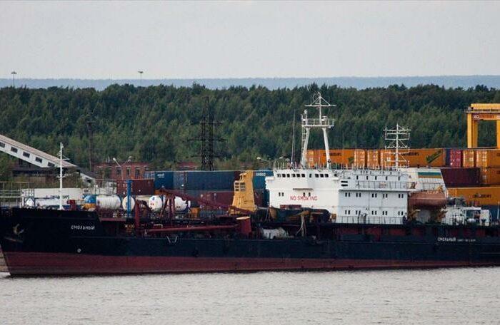У берегов Крыма тонет российское судно? (ВИДЕО)