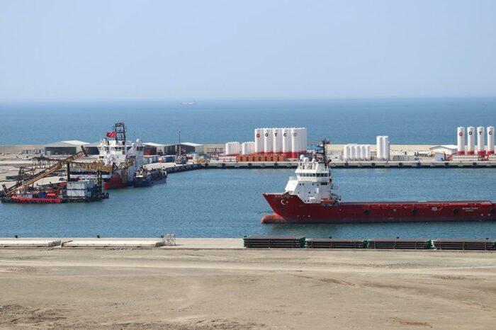 В Турции построили новый порт