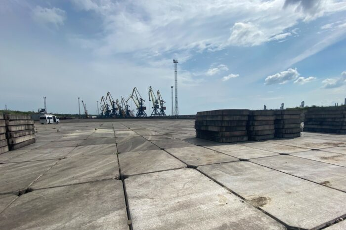 Порт Южный завершит строительство нового склада уже в текущем году