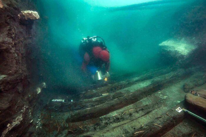 В Египте обнаружили затонувшее судно, которому 2000 лет