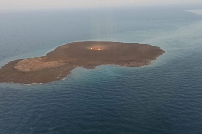 В Каспийском море произошел взрыв