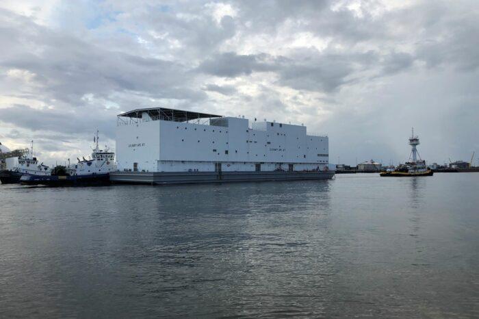 ВМС США получили судно, похожее на Ноев Ковчег
