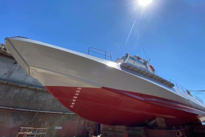 Верфь «Украина» спустила на воду два судна и взяла в работу новые