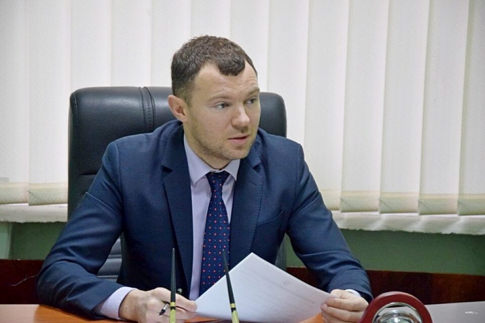 Vitaly Kindrativ became the new Head of the Maritime Administration