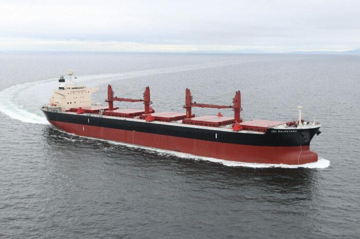 Судоверфь Mitsui E&S сдала в эксплуатацию последнее торговое судно