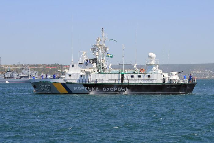 В Черном море пограничники спасли спецназовца ВМСУ (ВИДЕО)