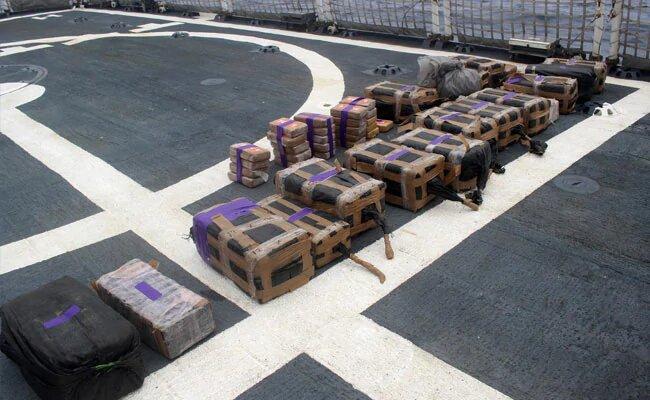 Контрабанду кокаина на $185 предотвратили ВМС Колумбии