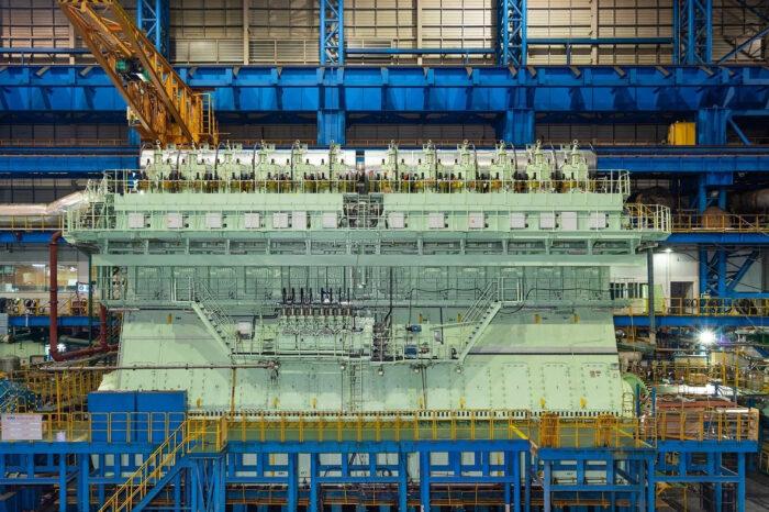 В мире растет спрос на мощные судовые двигатели
