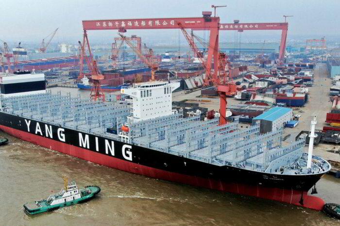 В Китае выросли заказы на постройку судов
