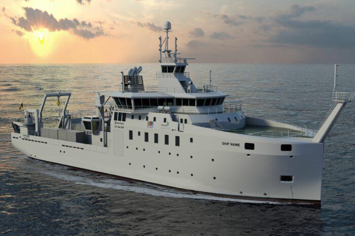 Украина получит от Бельгии исследовательское судно
