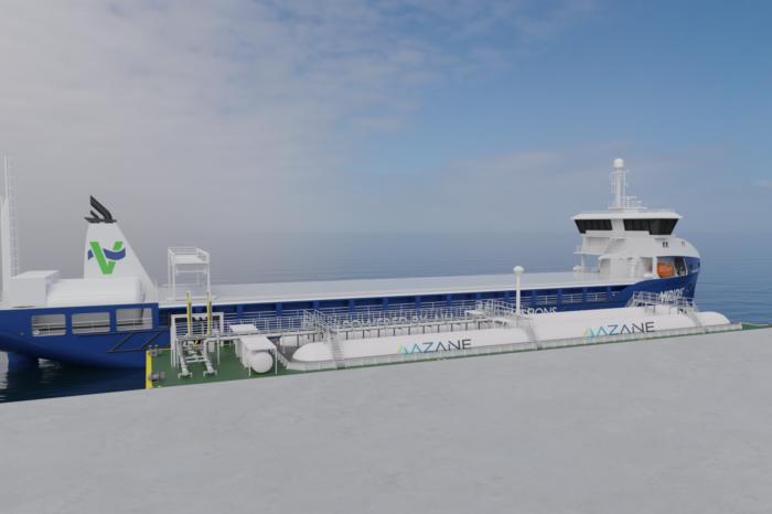 В Норвегии строят терминалы по перевалке аммиака