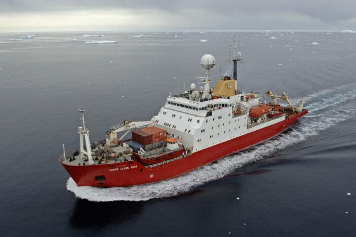 Британский ледокол James Clark Ross в сентябре прибудет в Одессу