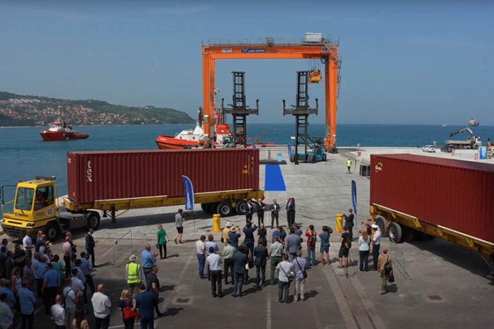 Видео дня: открытие нового причала в порту Копер