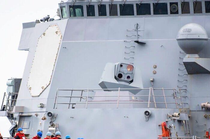 Ракетный эсминец США оснастили лазерной установкой ODIN