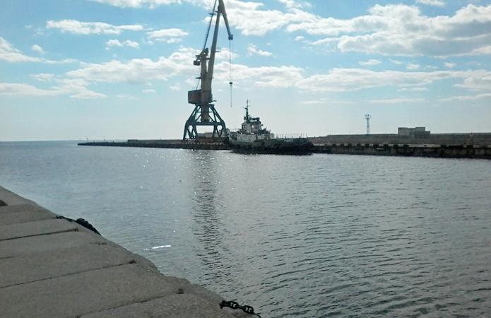 Скадовский порт принял первое в году судно