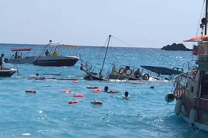 В Турции затонул катер: есть пострадавшие