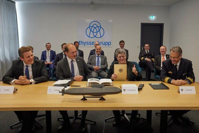 ThyssenKrupp построит подлодки за 5,5 млрд евро для ВМС Германии и Норвегии