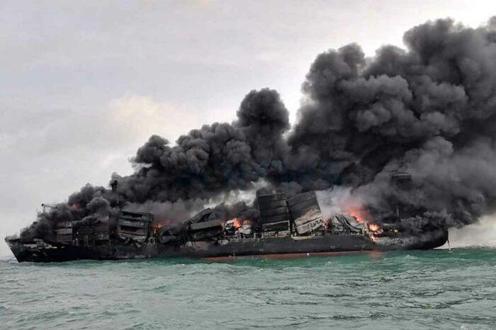 Погибшие животные и тонны пластика: последствия пожара на X-Press Pearl