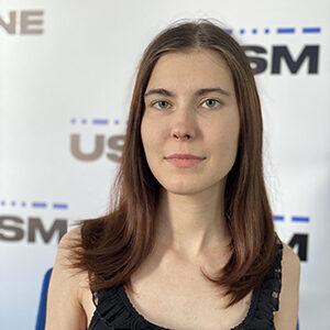 Journalist Yevheniya Tyahunova
