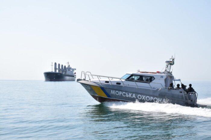 Разлив в порту Черноморска: подробности