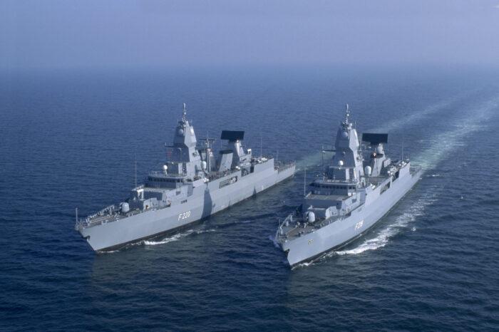 В Германии модернизируют фрегаты противоракетной обороны