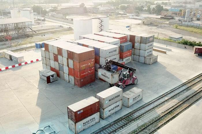 Maersk запустил новый контейнерный терминал в порту Новороссийск