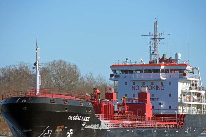Три моряка погибли на химовозе GLOBAL LAKE