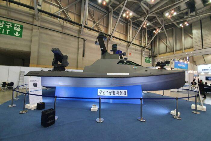 В Южной Корее завершили испытания беспилотного надводного корабля