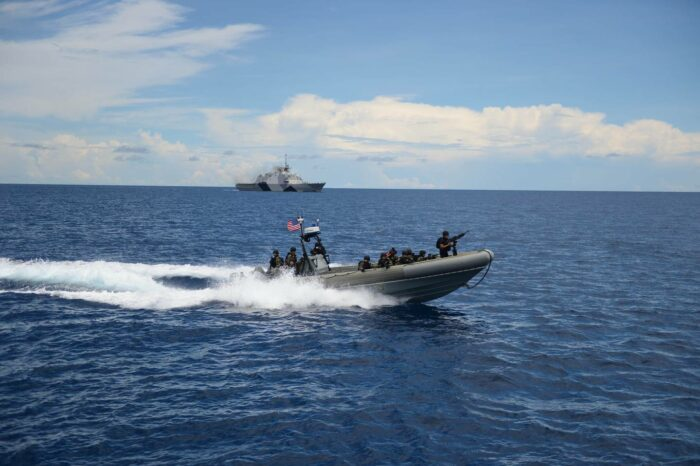 Военно-морские учения SEACAT стартовали в Сингапуре