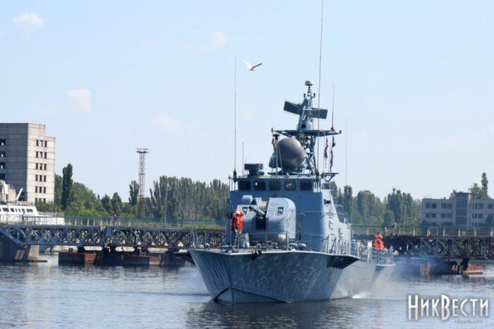 Военный катер «Прилуки» после ремонта возвращается в Одессу